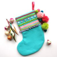 Make a Fabulous Felt Christmas Stocking