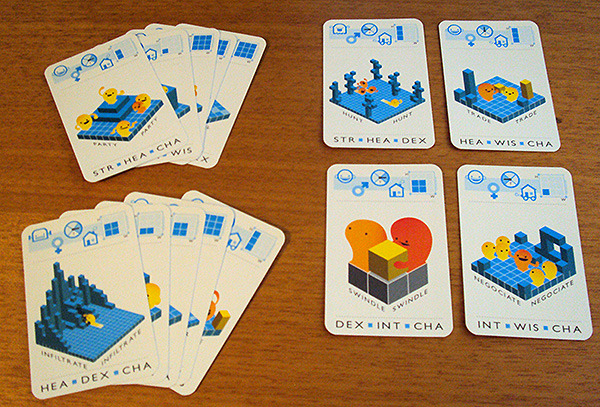 Game Seeds: meta card game for designing video games