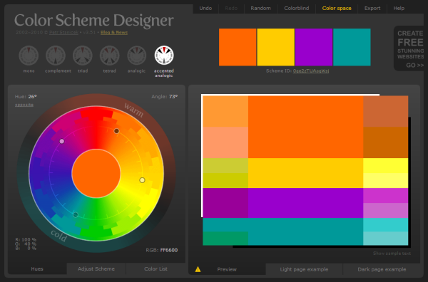What Are All The Color Schemes Slides  Picking A Color Palette Game Design & Programming