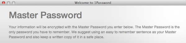A Password Manager