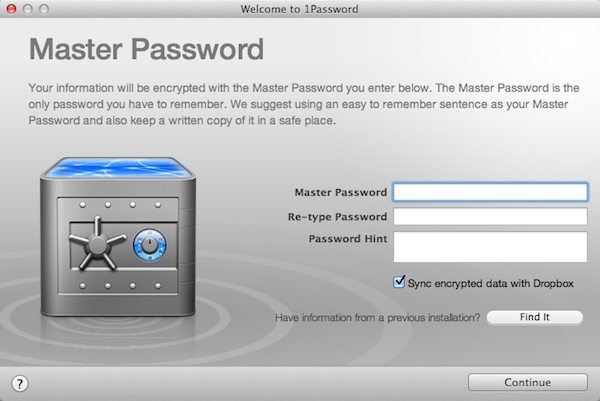 The Master Password