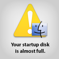 What To Do When Your Mac's Startup Disk is Almost Full