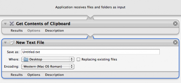 Clipboard to Text Workflow