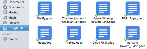 Google Drive in Finder