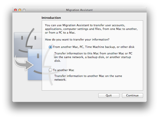 Of course, you can also transfer data from your old Mac to a new Mac