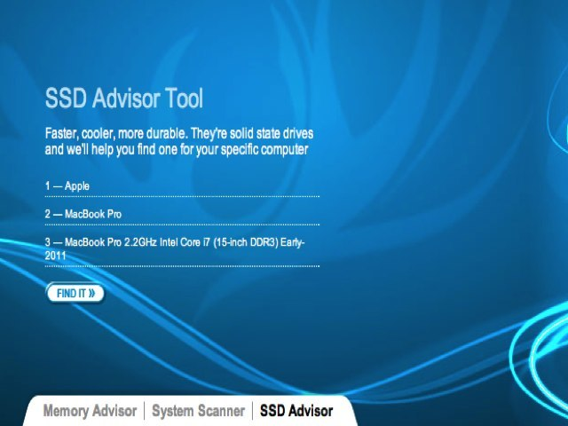SSD Advisor Tool