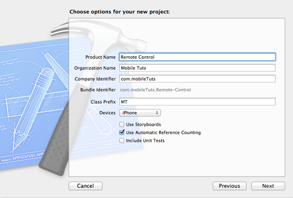 Update Your Applications with Dropbox or GroundControl: Project Setup - Figure 2