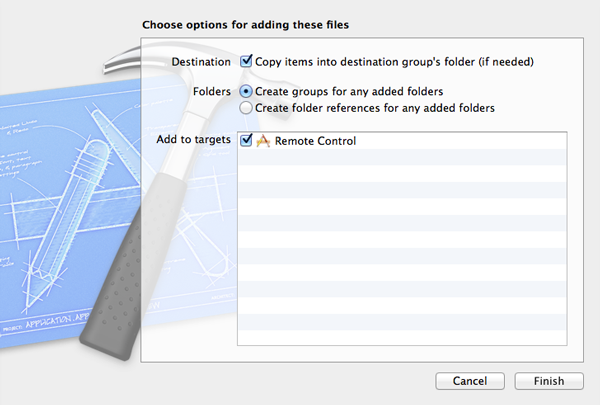 Update Your Applications with Dropbox or GroundControl: Adding AFNetworking and GroundControl - Figure 3