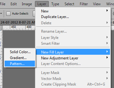 Add a Pattern Layer