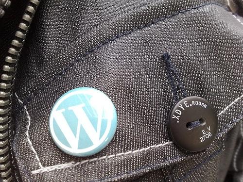 WordPress logo button by titanas, flickr