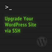 Quick Tip: Upgrade Your WordPress Site via SSH