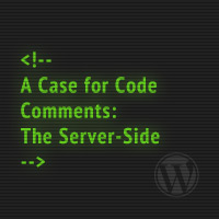 A Case for Code Comments: The Server-Side