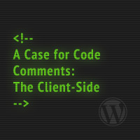 A Case for Code Comments: The Client-Side
