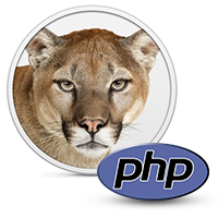 Upgrading the Native PHP Installation on OS X Mountain Lion