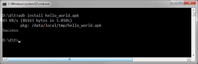 Adb Install