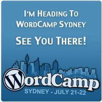 WordCamp Sydney, July 21-22 – Hope I See You There!