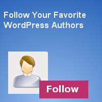 Simple WordPress Plugin to Follow Your Favorite Authors