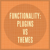 Functionality: Plugins vs Themes