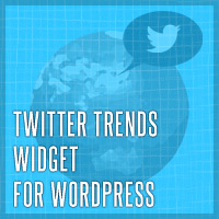 Twitter Trends Widget for WordPress